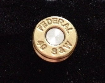 Federal S&W 40 Cal  Hat Pin. Lapel Pin. Tie Tack.