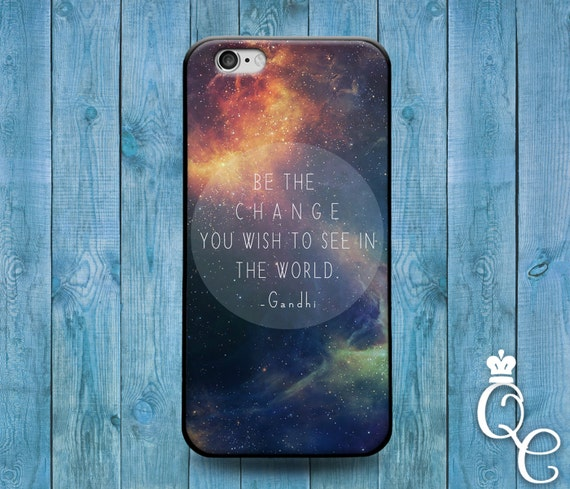 iPhone 4 4s 5 5s 5c SE 6 6s 7 plus iPod Touch 4th 5th 6th Gen Cute Quote Phone Case Space Galaxy Nebula Moon Earth Sun Life World Cover