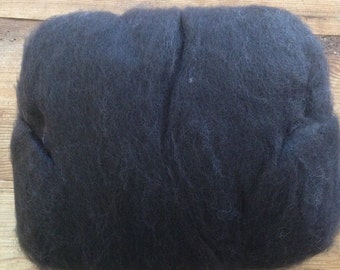 Black Alpaca Batting - 4oz Minimum (B-7)