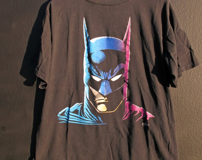 Batman face 1989 vintage Tshirt