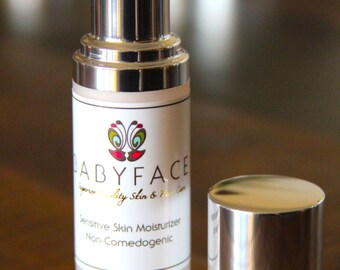 Babyface Skin Care Sensitive Skin Oil Control Moisturizer, 1.1 oz.
