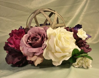 Handmade Custom Floral Wedding Centerpiece
