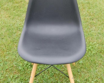 Retro Eiffel Black Kitchen / Dining / Office Chairs - ONLY 3 LEFT