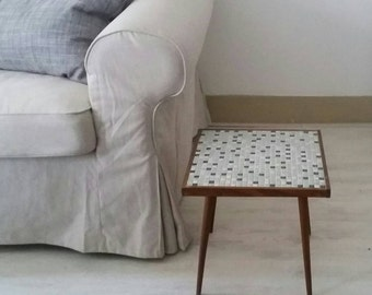 Beautiful Side Table with Mosaics '60