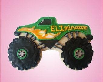 Monster Truck Cookie Cutter