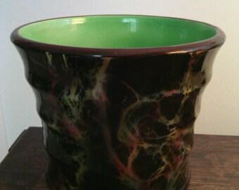 Vintage Czech Erphila pottery vase