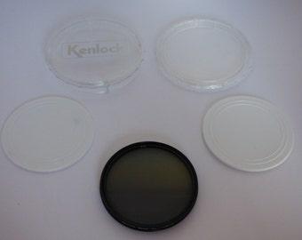 Vintage Kenlock 58mm PL Filter with Box