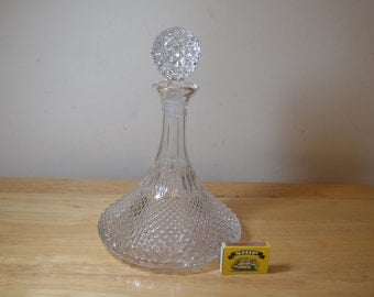 Vintage Carafe Decanter 1950-80 As New.