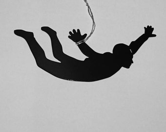 Sky Diving Ornament available in male and female versions