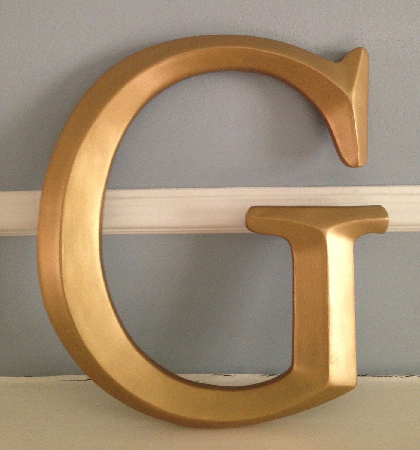 large wall letter large g initials monogram custom wall letter photo wall letter photo shoot prop any color