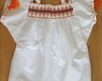 Mexican blouse for girl