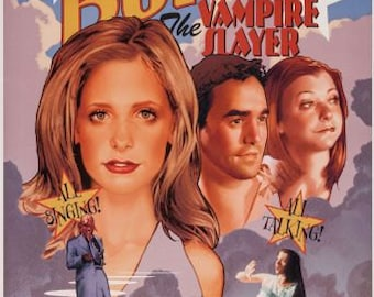 "Buffy the Musical Poster Buffy the Vampire Slayer MINI POSTER 11""x17"" 1117buffythemusicalptr07251501"