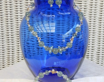 Lampwork & Glass bead necklace