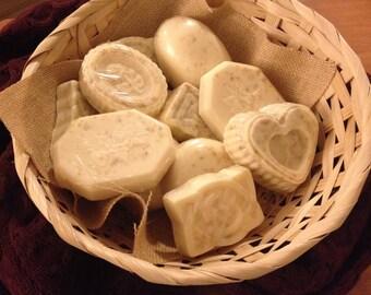 Honey-Vanilla Oatmeal Soap