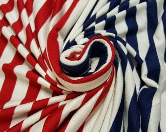 Rayon Spandex Stripes