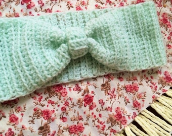 CLEARANCE WAS 14.99 NOW 5 Mint green headband free shipping