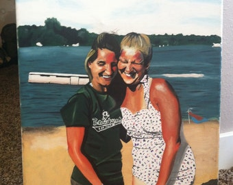 Partners in crime-sisters-lake