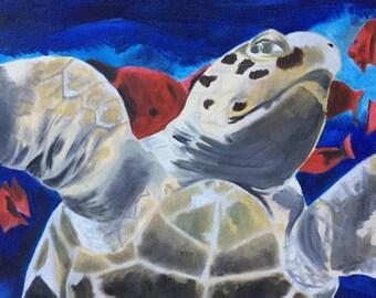 "Original Acrylic on 16""x20"" Canvas"