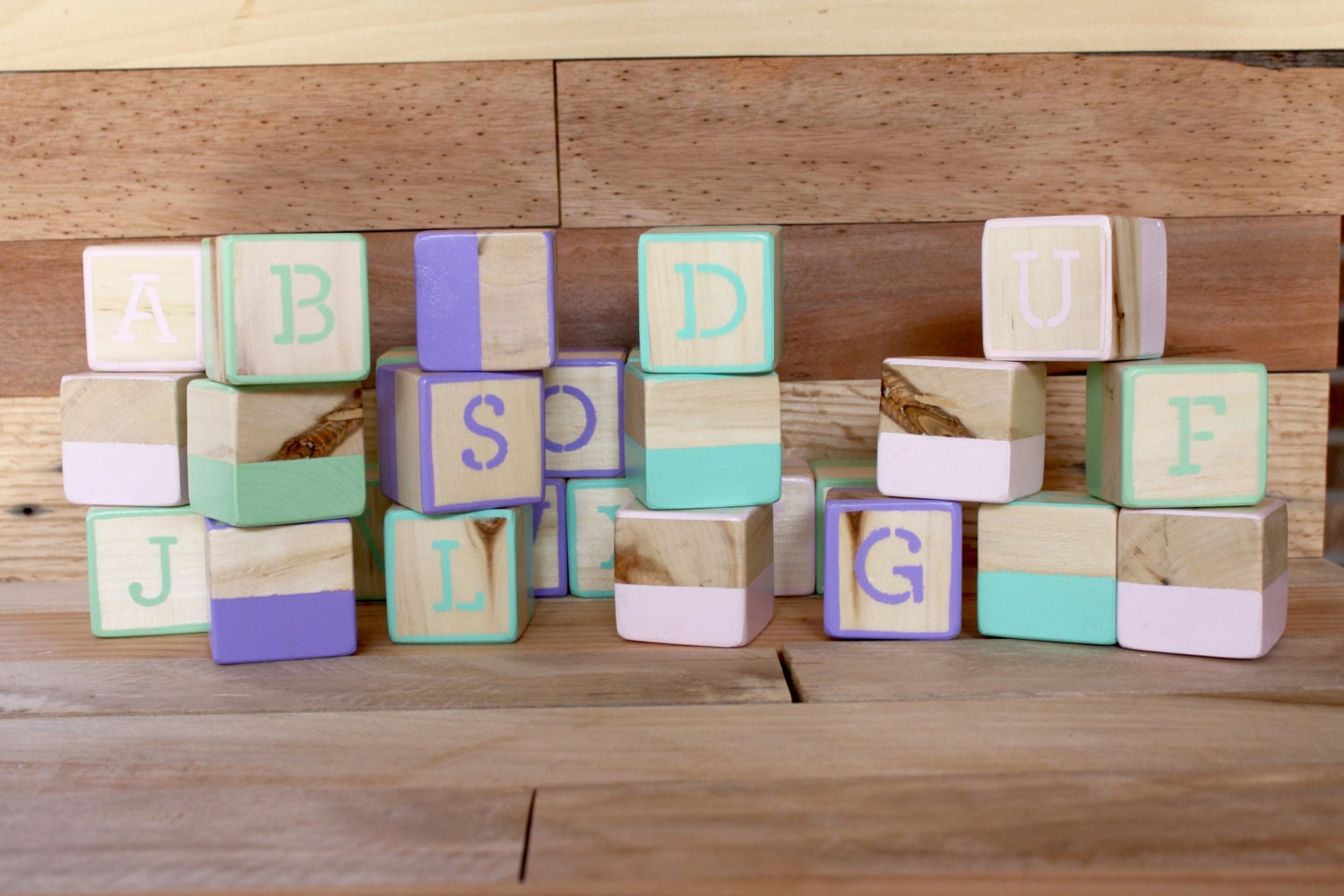 alphabet blocks photo prop abc blocks baby shower baby gift