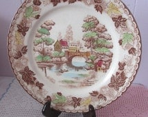 Vintage decorative plate NASCO