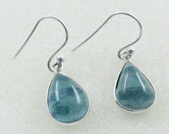 Apatite Stone Beautiful Look 925 Sterling Silver Earrings