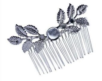 Rivoli ss59 14 mm / ss24 5 mm Leaves Hair Comb
