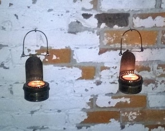 Antique garden lights