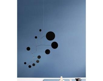Mobile Black Lappalainen Brass Hanging Art