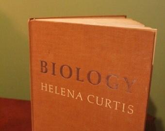 Vintage Biology Book-Helena Curtis-1973-Botany, Zoology, Genetics