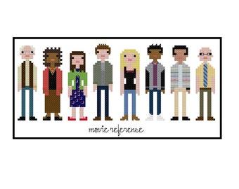 Community TV Series Parody- Cross Stitch Pattern PDF Download