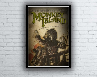 The Secret of Monkey Island 2 Poster