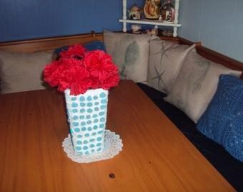 Light Blue Vase 013