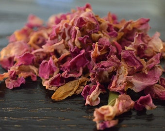 Rose petals. Free sample with every order.