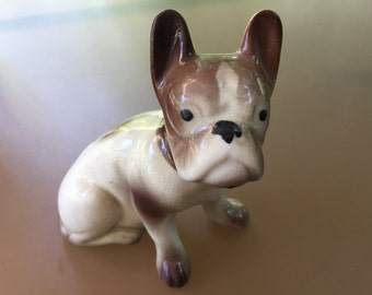 Dog - Boston Terrier - Brown and White - Ceramic