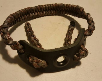 Bow wrist sling for compound bow