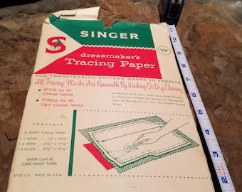Singer tracing paper vintage