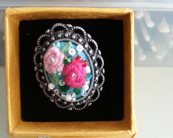 All Handmade Embroidered Ring