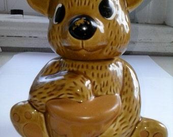 Vintage Bear Sugar Jar