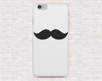 Mustache iphone case - choose your color -  iPhone 6, iPhone 6s, iPhone 6plus, iPhone 5, iPhone 5s, iPhone 4s, iPhone 4, iPhone 7 case