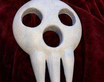 Lord Death Mask, Soul Eater Mask, shinigami sama mask, cosplay mask, custom, 3D printed hand painted