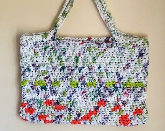 Handmade Recycled Plastic Bag Shopper