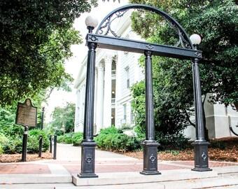 UGA Arch, University of Georgia Fine Art Photography Print, Athens GA Wall Art, UGA Print, House or Office Decor, Great Grad Gift