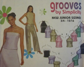 PATTERN SIMPLICITY 9775 dress or evening together