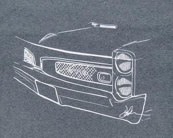 1967 Pontiac GTO muscle car T-shirt