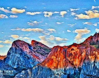 Yosemite' Three Sisters