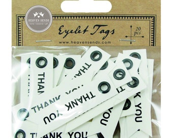 Mini Thank You Tags  - pack of 20