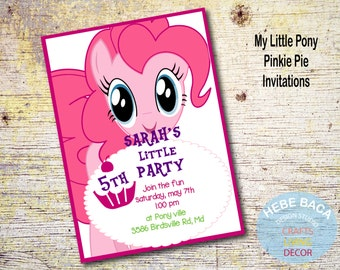 My Little Pony, Pinkie Pie Invitations
