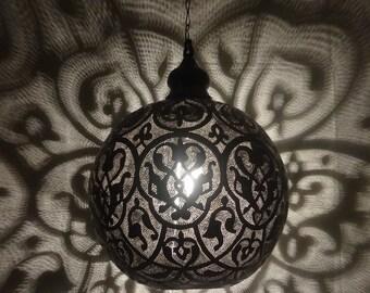 Valentine Handmade Hanging Light & Shadow Chandelier Metal