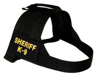 Canine Outfitters Patrol Harness Sheriff K-9 # 002