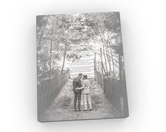 Add your own words; Picture with lyrics; Wedding photo with quotes; Add vows to photo; Mothers day from Dad